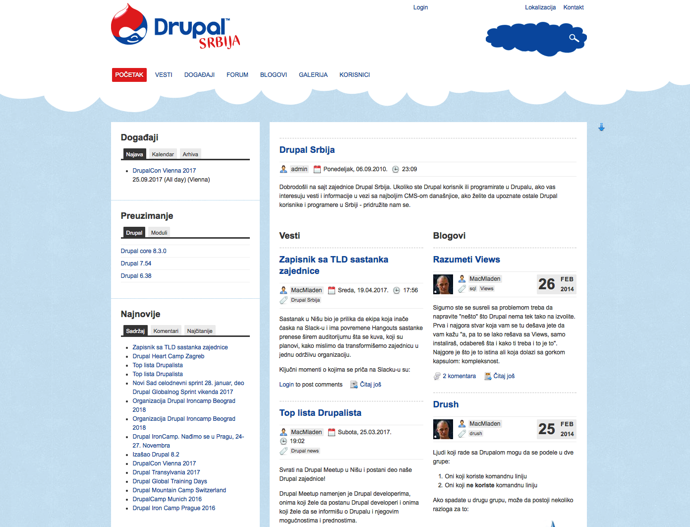Old drupal.rs site