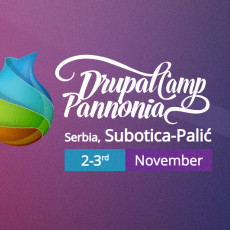 DrupalCamp Pannonia Announced