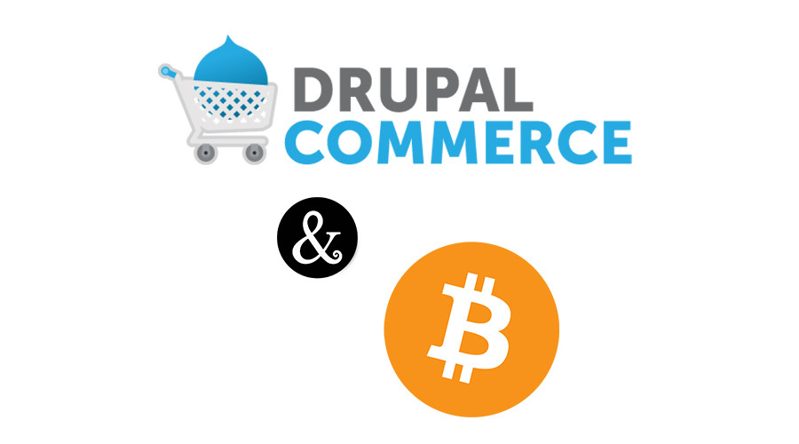 Commerce and Bitcoin logo